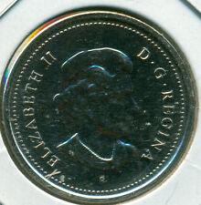2005-P CANADA TWENTY-FIVE CENTS, CHOICE SPECIMEN, GREAT PRICE!