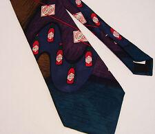 TABASCO Silk Necktie 4 Inches Wide Pepper Sauce  Retro Advertising Vintage
