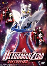 DVD ULTRAMAN ZERO Movie Collection ( 4 movies in 1 boxset )