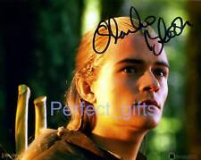 LEGOLAS ORLANDO BLOOM SIGNED PHOTO RE-PRINT RINGS #123