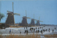 Alte Postkarte - Kinderdijk