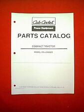 CUB CADET COMPACT TRACTOR FRONT LOADER ATTACHMENT MODEL  # 476 PARTS MANUAL