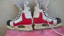 Skates Hockey on ice Vintage Botas Trex 1000 Czechoslovakia 42