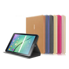 Leather Case Cover w/ Auto Sleep/Wake  for Samsung Galaxy Tab S2 8.0/9.7 Tablet