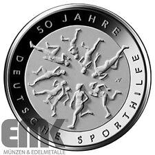Deutschland - 20 Euro 2017 - Deutsche Sporthilfe - Silber Stempelglanz