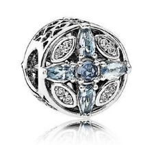 New Authentic Pandora Patterns of Frost Multicolored crystal charm # 791995NMBMX