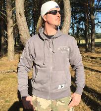 Sospechosovarón Landser gris, talla L, rifle, mg 3, Streetwear, mg 42 soldado, un veterano BW