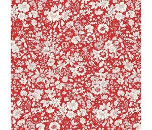 LIBERTY Flower Show Midsummer  Emily Flower 719F 100% cotton fabric per1/4metre