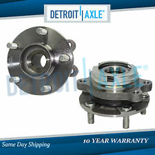 Set (2) New Front Left & Right Wheel Hub & Bearing Assembly - 2.5L Engine ONLY