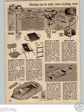 1966 PAPER AD Skipper 300 3 HP Chief  5 HP Outboard Motor Neptune Mighty Mite