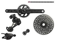 Gruppe SRAM XX1 EAGLE BLACK GXP Press Passen TRIGGER 175mm 10-50 1x12