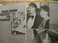 Shaun Cassidy, Three Page Vintage Clipping