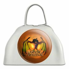 The Swan Princess Great Animal Rothbart White Metal Cowbell Cow Bell Instrument