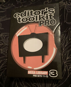 Digital Juice Editor's Toolkit Pro Set 3 Mega Library Pro Sets 11-15