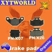 FRONT REAR Brake Pads KAWASAKI KDX 125 A1 A2 B1 B2 1990 1991 1992 1993 1994
