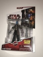 Star Wars The Clone Wars CAD BANE CW22 NEW 2009 includes Blasters