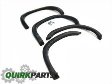 02-08 DODGE RAM 1500 03-08 2500 3500 SET OF 4 WHEEL FENDER FLARES OEM NEW MOPAR