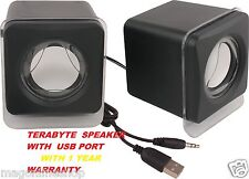 USB Powered Mini Portable Speaker for Laptop & PC 100% Original Terabyte