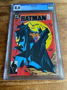 Batman #423 DC Comics 1988 CGC 8.0 1st Print, Classic Todd McFarlane Cover