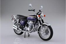 In STOCK Aoshima Honda CB750FOUR(K2) Purple 1/12 Scale Diecast Motorcycle