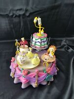◇ Vtg Enesco Disney's Beauty and the Beast Multi-Action Musical in original box