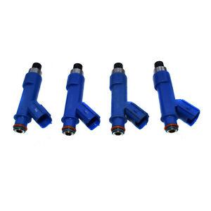 4Pcs Fuel Injectors For Toyota Corolla Matrix Vibe 1.8L 23250-22080 23250-0D050