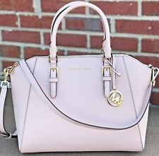 b44a7d6e459 NWT MICHAEL KORS CIARA LARGE BAG BALLET PINK SAFFIANO LEATHER PURSE SATCHEL