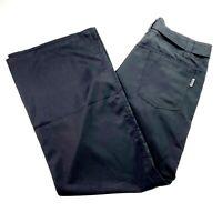 Kathmandu Women's Size 10 Black Wide Leg Belted Light Weight Hiking Travel Pants