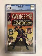 Avengers (1965) # 19 (CGC 7.0 OWWP) | 1st App Swordsman