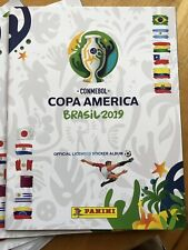 ONE Panini Copa America 2019 Brasil Empty Album USA EDITION #2