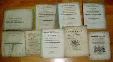 Göttingen alte Dokumente Broschüren Universität 19 Jhdt 1850 academiae gottingae