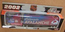COLORADO AVALANCHE TRACTOR TRAILER NHL 2002 REPLICA SEMI DIECAST TRUCK 1:80 SCL