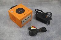 Nintendo GameCube console orange Japan system US Seller