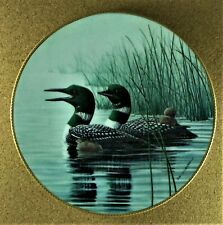 KEEPING THEM SAFE Plate The Loon:  Voice of the North #1 Don Li-Leger Loons