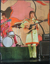 THE BEATLES POSTER PAGE . HELLO GOODBYE PROMO JOHN LENNON & RINGO STARR . V23