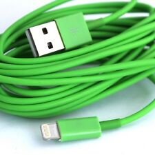 Long 2M USB Cable for iPhone 6S 5S 5 5C 6 Plus Charger Data Green Extension Lead