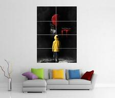 Ce film 2017 Stephen King Pennywise XL GIANT WALL ART Pic Imprimé Photo Poster
