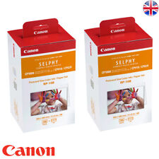 2x RP-108 Canon 4x6 inch 108 Prints for SELPHY CP1300 CP1200 CP1000 CP910 CP820