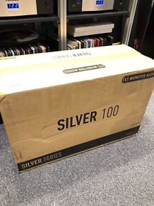 BRANDNEWSEALED Monitor Audio Silver 100 Speakers 6G (PAIR) (WALNUT)