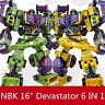 Transformers NBK Engineering Devastator GT 6 in1 Autobot Robot Oversize Figure