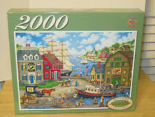 """MasterPieces 2000 pc Puzzle ~ Seagulls Delight ~ 39"""" x 27"""" Signature Collection"""