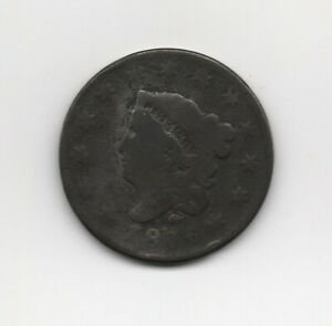 1816 Coronet Large Cent