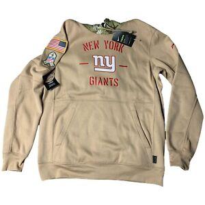 Nike NFL New York Giants Salute to Service Therma Hoodie Camo Mens Size Medium