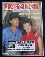 PREMIÈRE CINÉMA + Fiches - Album de CANNES - N°87 / 1984