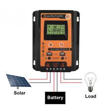 50A USB Controller Regolatore Di Carica Batteria del pannello solare 12V/24V IT