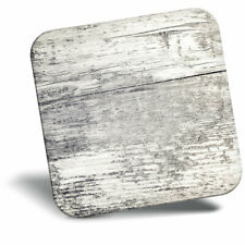 Awesome Fridge Magnet - Distressed Light Wood Effect Cool Gift #3333