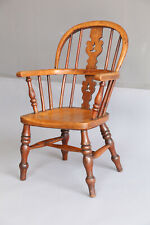Antique English Windsor Child's Chair