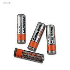 4x Akku + Box Mignon AA Ni-MH Camelion 2500mAh mignon aa 1,2V Aufladbar Batterie