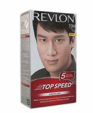 Revlon Top Speed Natural Black 70,Man,Hair Color For A Soft And Shiny Hair 100 g