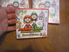 Mario & Luigi: Superstar Saga + Bowser's Minions Nintendo 3DS BRAND NEW SEALED